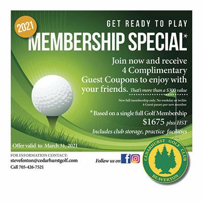 Membership Special 2021